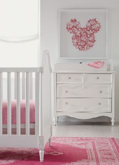 Baby girl Disney nursery room