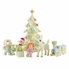 Lenox A Misfit Toys Christmas. The Lenox A Misfit Toys Christmas set is made up of Rudolph, 5 toys and a Christmas tree. It will remind you of the popular Christmas movie. You will treasure this set for years to come.. Price: $145.00