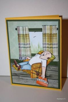 Art Impressions Stamps: NEW AI People...there's a nap for that!  Too cute!