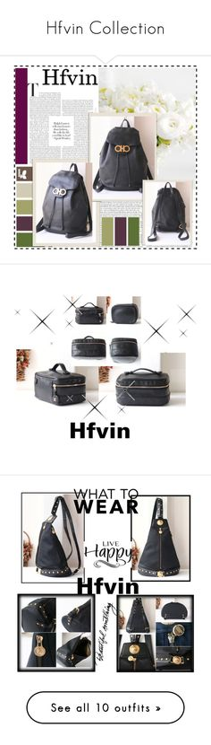 """""""Hfvin Collection"""" by nedim-848 ❤ liked on Polyvore featuring Mixit, Salvatore Ferragamo, vintage, Chanel, Versace, WALL, Louis Vuitton and Roberta Di Camerino"""