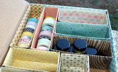 Daring DIY: Repurposed Storage Box - Craft Storage Ideas - Sony Dsc