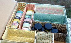 Daring DIY: Repurposed Storage Box - Craft Storage Ideas - Sony Dsc