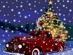 "Photo from album ""Новогодние on - Weihnachten, Chrismas, Navidad, Noel, - Christmas Merry Christmas Animation, Merry Christmas Gif, Christmas Scenes, Noel Christmas, Christmas Pictures, Christmas Greetings, Winter Christmas, Christmas Lights, Vintage Christmas"