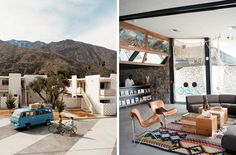 vintage palm springs interior design  | Palm Springs | Take Sunset