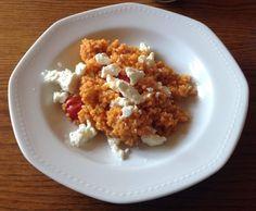 Rezept Tomatenbulgur mit Feta von Echsentier - Rezept der Kategorie Hauptgerichte mit Gemüse
