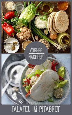 http://eatsmarter.de/rezepte/kichererbsenbaellchen-pita-brot Falafel lassen sich leicht selber machen und sind super lecker.