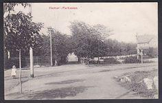 Hamar - Parkveien. Utg N.K. brukt 1909
