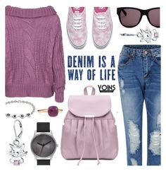 """""""street style- yoins 3.10"""" by cly88 ❤ liked on Polyvore featuring Vans, Moschino, Bling Jewelry and Pomellato"""