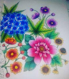 Instagram media costache.elena - #blomstermandala #mariatrolle #blomstermandalacoloringbook