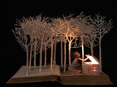 Incredible altered books site!