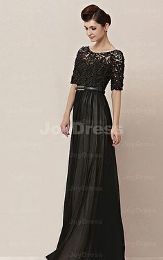 £158.00 Hollow-out Flower A-line Jewel Floor-length Dress Prom Dresses d87185ebda94