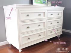 How to build a dresser. Could work for bath vanity with a few modifications.