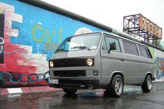 Flay grey VW T3 / T25
