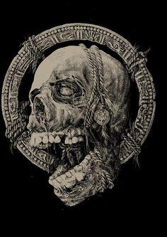 Juxtapoz Magazine - The Satanic World of Arte Horror, Horror Art, Arte Heavy Metal, Crane, Rock Poster, Arte Obscura, Dark Art Drawings, Macabre Art, Painting Tattoo