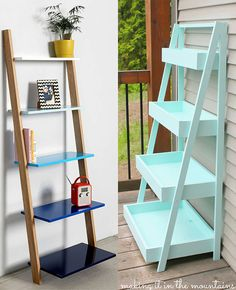 How to DIY the Urban Outfitters Catalog (For Your Home). Urban Outfitters  ApartmentLadder ShelvesShelvingLeaning ...
