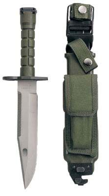 GI Type M-9 Bayonet with Sheath MILITARY KNIVES CAMPING TOOLS MILITARY WEAPONS $75.81