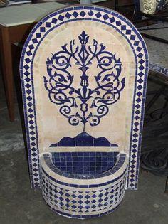 Marrakech Fountain Melanie Sherwell @ bestinteriors