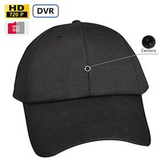 Fuvision New Video Recording Cap Hidden Camera Hat Camcorder Battery Operated Baseball Cap Camera Fashionable Hat Camera Mini Spy Camera, Hidden Spy Camera, Spy Gadgets, Cool Gadgets To Buy, Spy Devices, Video Surveillance Cameras, Cameras For Sale, Home Security Systems, Security Technology
