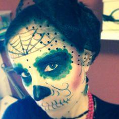 Sugar Skull- Halloween 2013