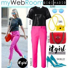 No 252:Gigi Hadid-IT GIRL style (Mywebroom.com) (@lovepastel)