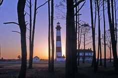 Bodie Island Lighthouse // Outer banks of North Carolina