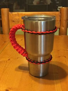 Paracord Yeti Handle (or any tumbler) | Wild Wolf Pack