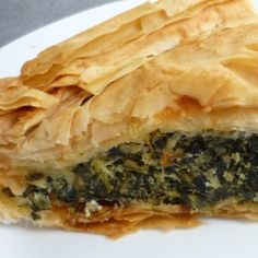 Spanakopita best greek food