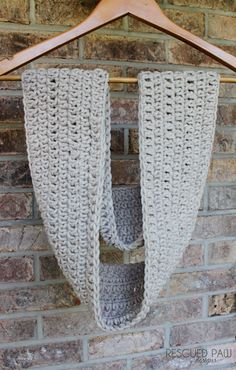 Mix it Up Crochet Scarf Pattern :: Rescued Paw Designs