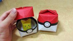 517 포켓몬 GO (포켓볼)2 - 1 색종이접기  Origami  pokeball 종이접기 Pokemon Go 포켓몬 고 볼  ...