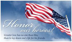 Free John 15:13 eCard -  Personalized Patriotic Cards Online