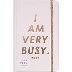 2016 ban.do I Am Very Busy Planner