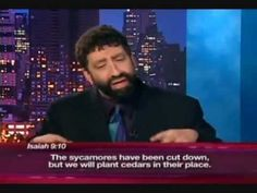 Interesting! Messianic Rabbi Jonathan Cahn