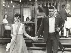 Elvis Presley and Millie Perkins in Wild in the Country (1961)