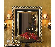 Mirrors Sconces - from Mac Kenzie Childs....Keep reference, I lost their catalog years ago!