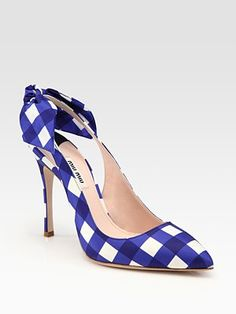 I must own these Miu Miu shoes. seriously. Right now