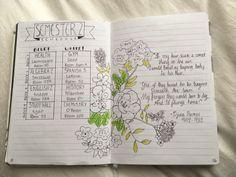 danishmeme: Ahh here's some my bulletin journal so far! Thank...