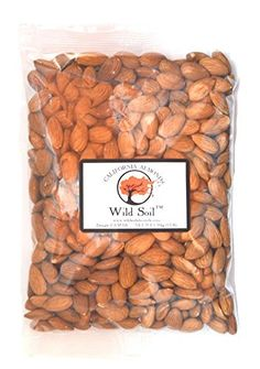 Wild Soil Almonds - Beyond Organic, Steam Pasteurized, Raw 1LB Bag *** Discover this special deal, click the image : baking desserts recipes