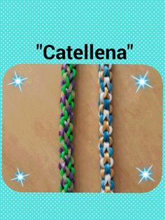 """Catenella"" Rainbow Loom Bracelet/How To Tutorial"