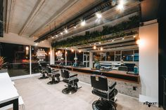 Photograph by Logan West.  #barbershop #barbershopdesign #interiordesign #smallspacedesign #retailinterior #hairdresser #hairdresserdesign #hairdresserinterior