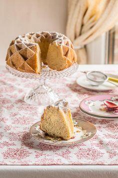 Bundt cake de limón.