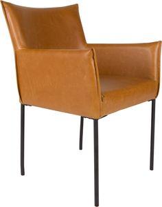 Dion stoel cognac - Robin Design