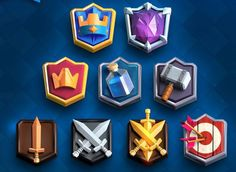 Clash Games provides latest Information and updates about clash of clans, coc updates, clash of phoenix, clash royale and many of your favorite Games Game Ui Design, Badge Design, Icon Design, Ux Design, Game Gui, Game Icon, Clash Of Clans, Vikings Game, Shield Icon