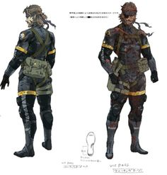 Some new arts from Metal Gear Solid V Art Book.