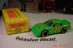 Matchbox Chevrolet Lumina Green 1992 54 Box