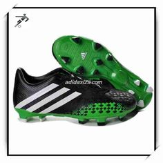 2013 Adidas LZ 2 SL TRX FG David Beckham Black Green White Nike Football d269cf1e37e7