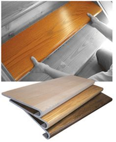 wood stair covers