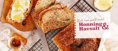 no - Oppskrifter på mat og baking med mel og mixprodukter - Regal Danish Food, Bread Recipes, French Toast, Baking, Breakfast, Honey, Morning Coffee, Bakken, Backen