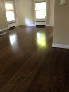 oak flooring with medium stain | red-oak-with-jacobean-stain-1