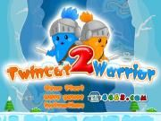 Want to find out which is the 2nd generation of Double Cat Warrior? That is Twin Cat Double 2! It is a classic two-player game where two little blue and orange cats get ready to have an adventure in the beautiful and gorgeous silver ice cave. What are they planning to do? Theyre collecting all coins and defeating the powerful evils! The twins must help each other to overcome all the obstacles and get to the exit at the same time.