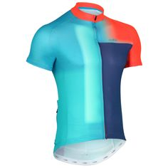Buy your dhb Blok Short Sleeve Jersey - Blur - Jerseys from Wiggle. Bike Wear, Cycling Wear, Cycling Shorts, Cycling Jerseys, Cycling Outfit, Bicycle Clothing, Cycling Clothing, Triathlon Gear, Jersey Designs